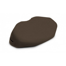 Кофейная вельветовая подушка для любви Liberator Retail Arche Wedge