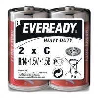 Батарейки EVEREADY R14 C 1,5V - 2 шт.
