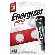 Батарейки Energizer Lithium CR2032 3V - 2 шт.