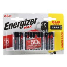 Батарейки Energizer MAX AA/LR6 1.5V - 12 шт.