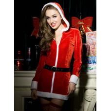 Новогодний эротический костюм Снегурочки №16
